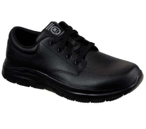 Skechers Flex Advantage - Fourche Sr Mens Occupational Footwear Black